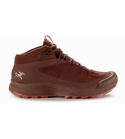Aerios FL Mid GTX Shoe Women's Redox Boreal Burn Side View