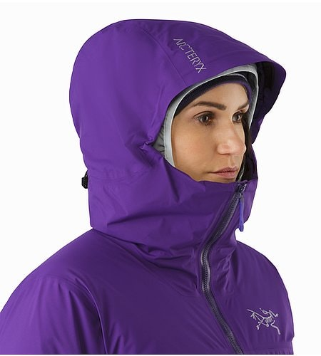 Airah Jacket Women's Azalea Hood Side View
