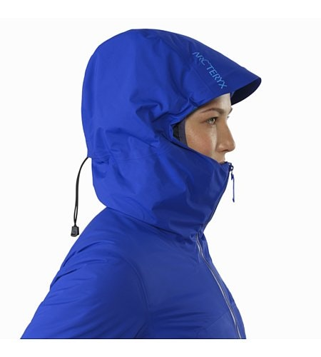 Airah Jacket Women's Zaffre Hood Up