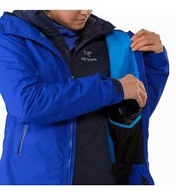 Airah Jacket Women's Zaffre Internal Dump Pocket