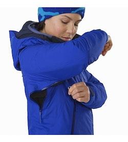 Airah Jacket Women's Zaffre Pit Zip