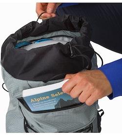 Alpha AR 20 Backpack Robotica Front Pocket
