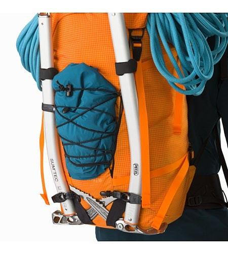 Alpha AR 35 Backpack Beacon Ice Axe Attachment