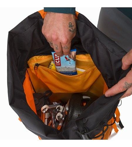 Alpha AR 35 Backpack Beacon Internal Security Pocket