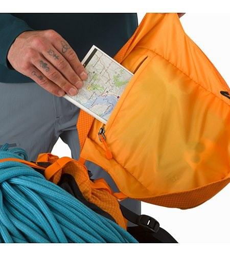 Alpha AR 35 Backpack Beacon Internal Top Lid Pocket