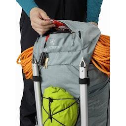 Alpha AR 55 Backpack Robotica Top Lid External Pocket