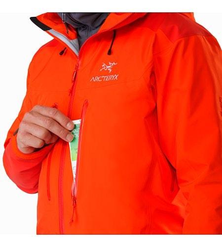 Alpha AR Jacket Flare Chest Pocket