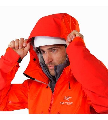 Alpha AR Jacket Flare Helmet Compatible Hood