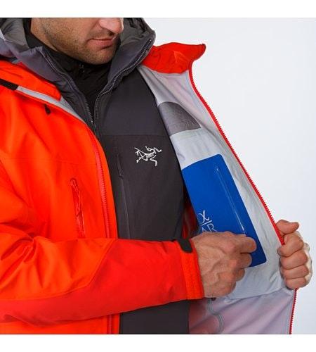 Alpha AR Jacket Flare Internal Security Pocket