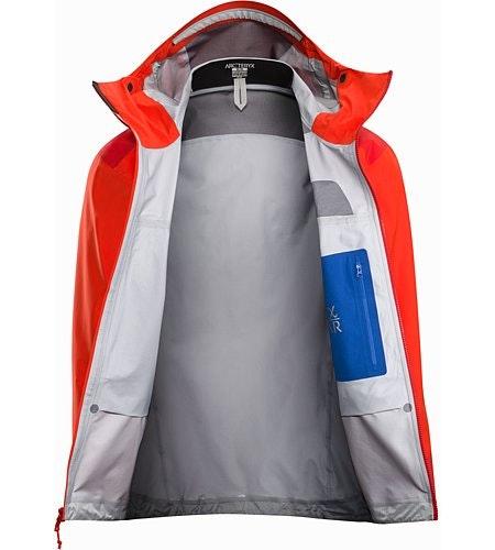 Alpha AR Jacket Flare Internal View