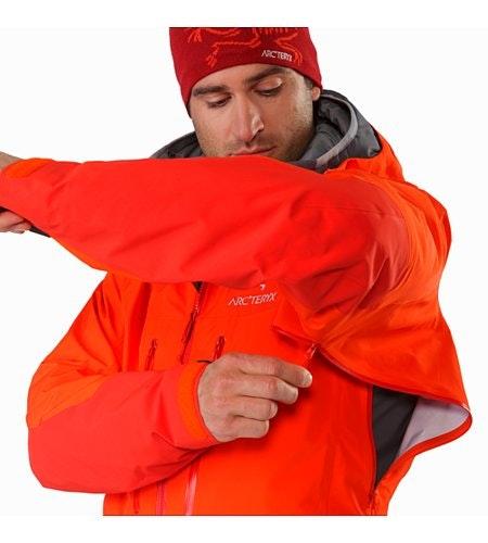 Alpha AR Jacket Flare Pit Zip