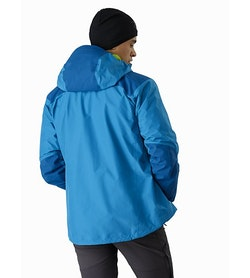 Alpha AR Jacket Thalassa Back View