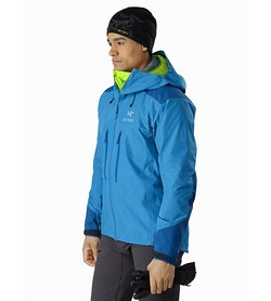 Alpha AR Jacket Thalassa Front View