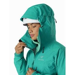 Alpha AR Jacket Women's Illusion Helmet Compatible Hood