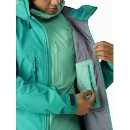 Alpha AR Jacket Women's Illusion Internal Security Pocket