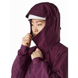 Alpha AR Jacket Women's Rhapsody Helmet Compatible Hood