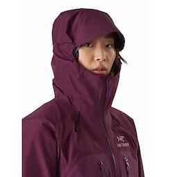 Alpha AR Jacket Women's Rhapsody Hood