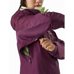Alpha AR Jacket Women's Rhapsody Pit Zip