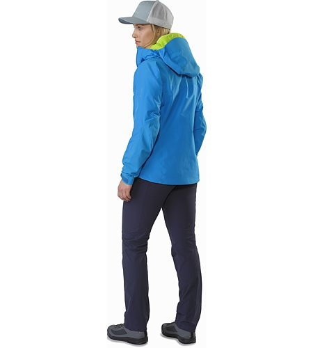 Alpha AR Jacket Women's Sonora Back View