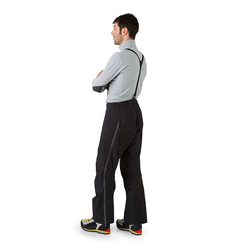 Alpha AR Pant Black Back View