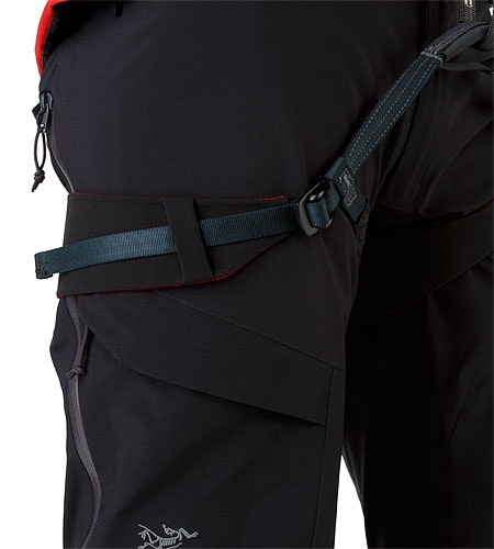 Alpha AR Pant Black Harness Fit