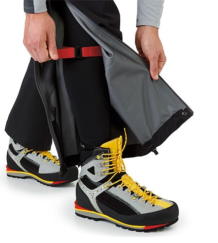 Alpha AR Pant Black Leg Wrap
