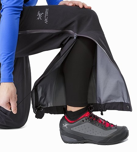Alpha AR Pant Women's Black Lace Hook And Drawcords