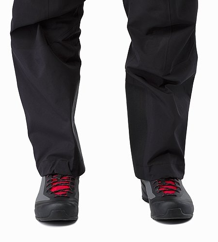 Alpha AR Pant Women's Black Leg Wrap Comparison