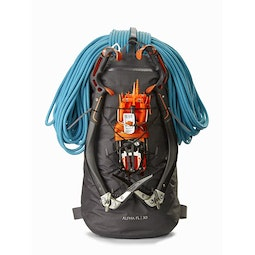 Alpha FL 30 Backpack Carbon Copy Ice Axe Attachment