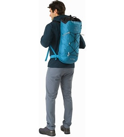 Alpha FL 30 Backpack Dark Firoza Back View