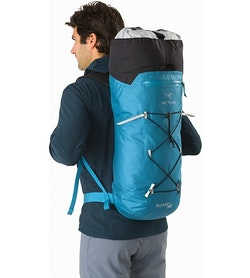 Alpha FL 30 Backpack Dark Firoza Extendable Top Lid