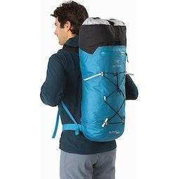 Alpha FL 30 Backpack Dark Firoza Extendable Top Lid