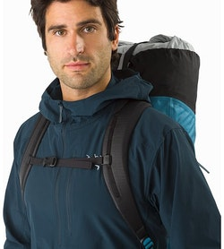 Alpha FL 30 Backpack Dark Firoza Shoulder Straps