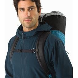 Alpha FL 30 Backpack Dark Firoza Shoulder Straps