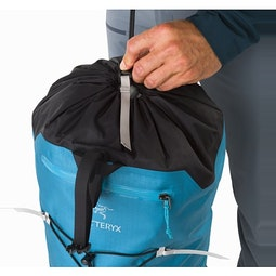 Alpha FL 30 Backpack Dark Firoza Top Closure Cinch