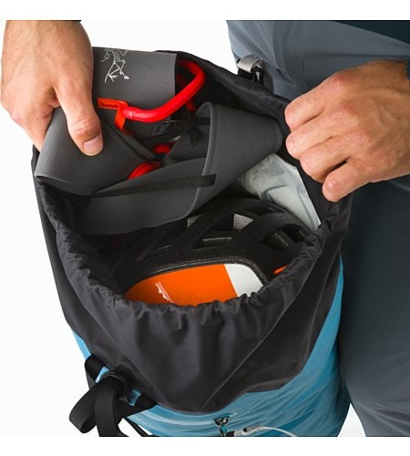 Alpha FL 30 Backpack Dark Firoza Top Lid Access