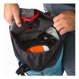 Alpha FL 30 Backpack Dark Firoza Top Lid Access