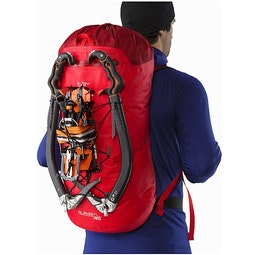 Alpha FL 45 Backpack Cayenne Rückansicht