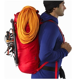 Alpha FL 45 Backpack Cayenne Rope Attached