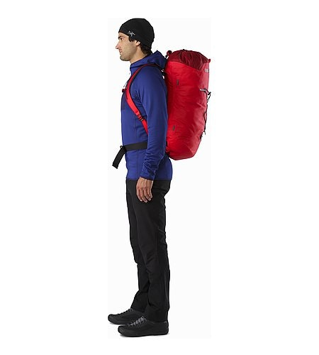 Alpha FL 45 Backpack Cayenne Side View
