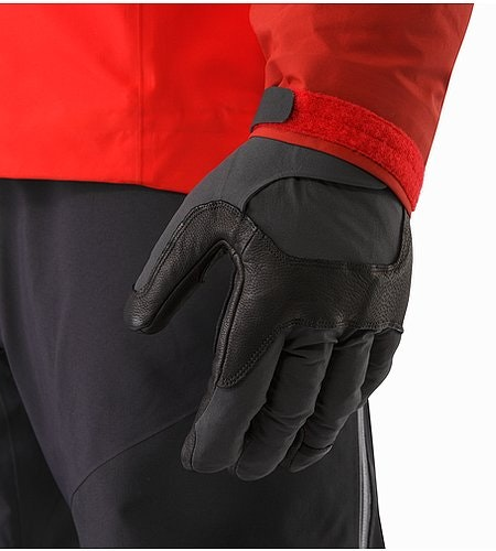 Alpha FL Glove Graphite Cardinal Fit Under Cuff