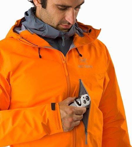 Alpha FL Jacket Beacon Chest Pocket