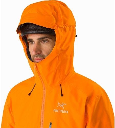 Alpha FL Jacket Beacon Hood Up