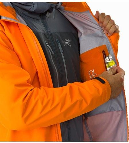 Alpha FL Jacket Beacon Internal Security Pocket