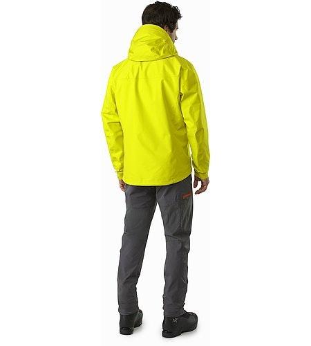 Alpha FL Jacket Lichen Back View