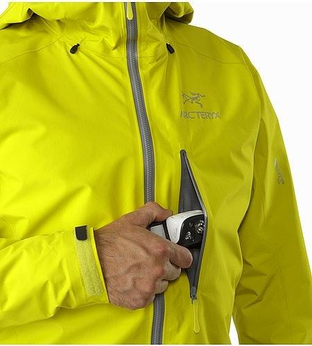 Alpha FL Jacket Lichen Chest Pocket