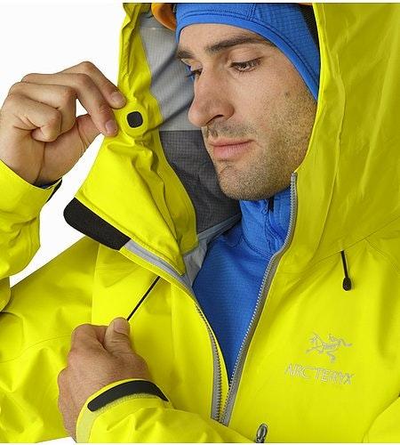 Alpha FL Jacket Lichen Hood Adjuster