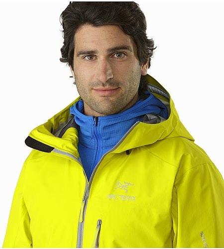 Alpha FL Jacket Lichen Open Collar