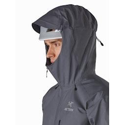 Alpha FL Jacket Meteor Helmet Compatible Hood