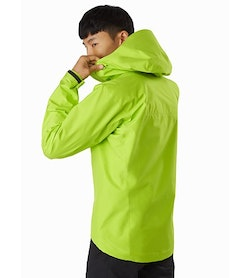 Alpha FL Jacket Pulse Back View